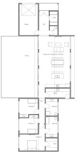 Floor Plan Of Modern Family House 51 Best House Plans Images On Pinterest Small Houses