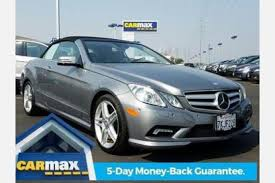 mercedes e class convertible for sale used 2011 mercedes e class convertible pricing for sale