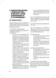changement bureau de vote comité national d organisation des primaires guide du président de