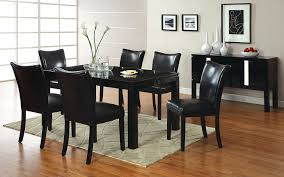 Wood Dining Room Chairs by Amazon Com Furniture Of America Basic Modern Rectangular High