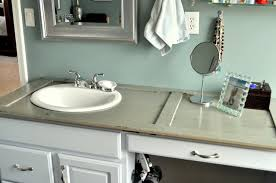 old shutter becomes bathroom countertop cleverly inspired