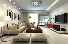 Beautiful Living Room Interior Design Images With High Ceiling - Contemporary living room interior design