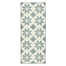 tapis de cuisine alinea tapis de cuisine carreaux de ciment 50x120cm en vinyle
