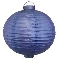 battery operated paper lantern lights 15inch battery operated light 12 led paper lantern royal blue