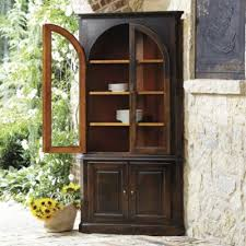how to arrange a corner china cabinet casa florentina gabriele corner china cabinet custom