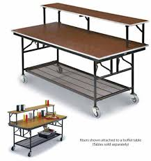 midwest folding products riser shelf sealed plywood top with