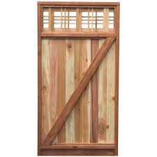 3 Panel Interior Doors Home Depot Wood Fence Gates Wood Fencing The Home Depot
