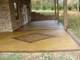 Patio Paint Designs Concrete Porch Paint Colors Home Design Ideas
