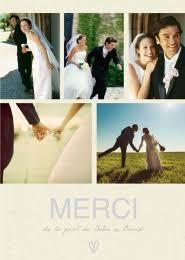 faire part de remerciement mariage carte de remerciement mariage photobox