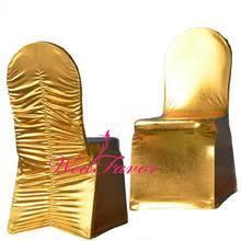 Gold Spandex Chair Covers Compare Prices On Gold Chair Covers Online Shopping Buy Low Price