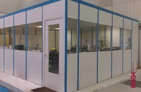 bureau d atelier modulaire aménagez vos locaux avec notre cloison de bureau amge industrie