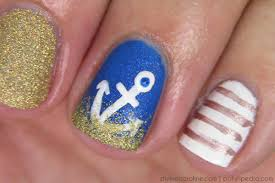 summer nails anchor in the sand nail design more com