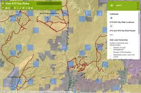 Utah Maps by Interactive Ohv Maps From Utah State Parks Kuer