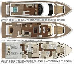 Yacht Floor Plan by 93 Motor Yacht Luxury Yacht For Sale Aqvaluxe Yachts