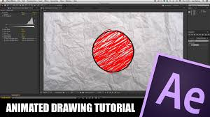 after effects tutorial animated drawing youtube
