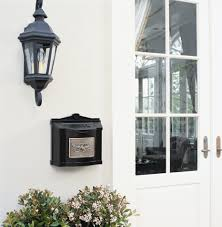 nickel mailbox wall mount wall mount mailbox wall mount mailbox with wall mount mailbox