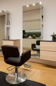 light sleek and modern salon station salon ideas pinterest