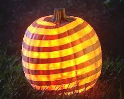 lighted halloween pumpkins shaved swirl a whirl pumpkin hgtv
