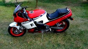 kawasaki gpz 600 ninja 1987 cold start engine sound exhaust