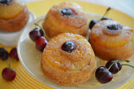 mini pineapple upside down cakes sweet things by lizzie sweet
