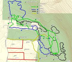 New York Appalachian Trail Map by Up To Date Map Of The Groomed Ski Trails At Harriet Hollister