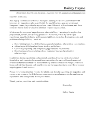 sample letter to loan officer best loan officer cover letter examples livecareer