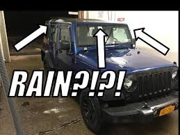 my jeep wrangler jk how is a jeep wrangler soft top in the rain jeep wrangler