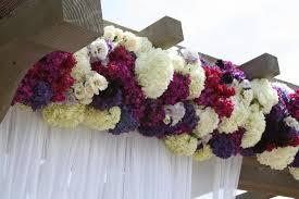 wedding flower pergolas hgtv
