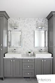 backsplash ideas for bathrooms a marble inspired ensuite bathroom budget friendly