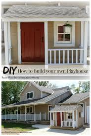 diy playhouse playhouses play houses and backyard