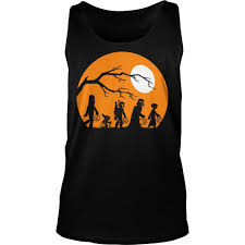 star wars trickortreat halloween silhouette shirt or sweatshirt