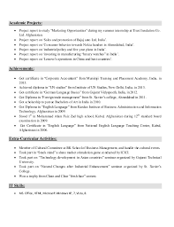 It Skills Resume Sample by Resume Sample For Freshers