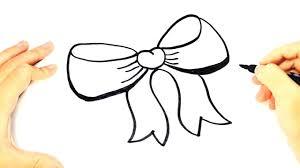 draw bow tie kids bow tie easy draw tutorial