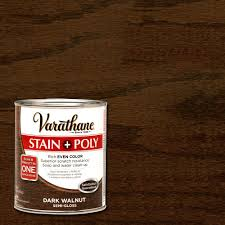 interior wood stain colors home depot varathane 1 qt walnut stain and polyurethane 266159 the