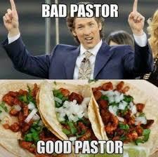 Pastor Meme - bad pastor good pastor politicalhumor