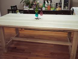 wood block dining table decorating kitchen island cutting block solid wood block table