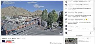 Jackson Hole Map Another Point Of View Jackson Hole Town Square Traffic Cam