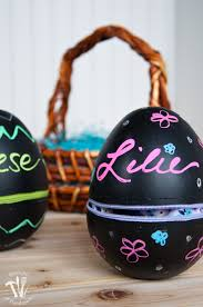 decorative eggs jumbo chalkboard zipper easter eggs a houseful of handmade