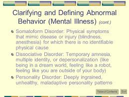 Illnesses That Cause Blindness Psychological Disorders Ppt Online Download