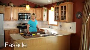Diy Backsplash Kitchen Diy Backsplash No Contractor Needed Youtube