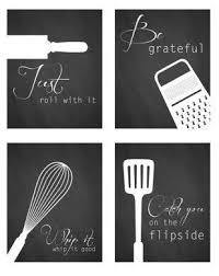 Modern Kitchen Wall Art - create an awesome gallery wall for less than 50