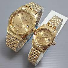 Jam Tangan Alba Emas jam tangan mewah gold di distributor jam