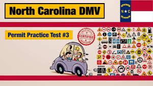 driving license test north carolina dmv permit practice test 3