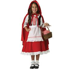 Red Riding Hood Costume Little Red Ridinghood Costume Red Ridinghood Costume For Kids