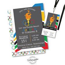 Vip Invitation Cards Olympic Party Invitations Lilbibby Com