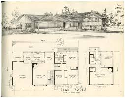 1950s contemporary house floor plan u2013 readvillage