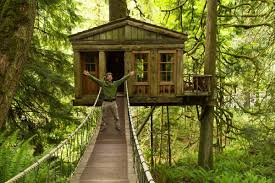 Treehouse Point Wa - exploring treehouses at treehouse point traveling with ariel bravy