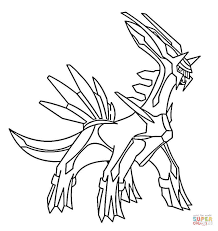 pokemon coloring pages gallade pokemon coloring pages dialga dialga pokemon page vitlt com