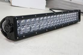 battery operated light bar new 4d super bright 120w 24 rechargeable battery operated led
