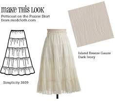 how to make a petticoat mtl petticoat on the prairie skirt the sew weekly sewing